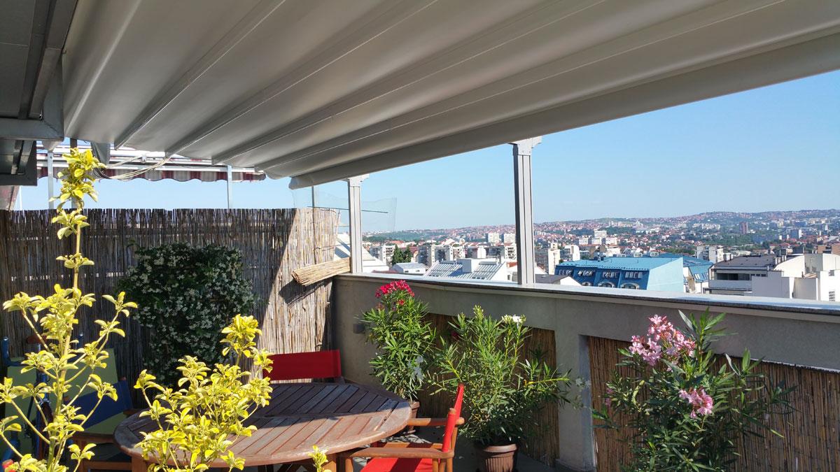 Privatna terasa – Beograd
