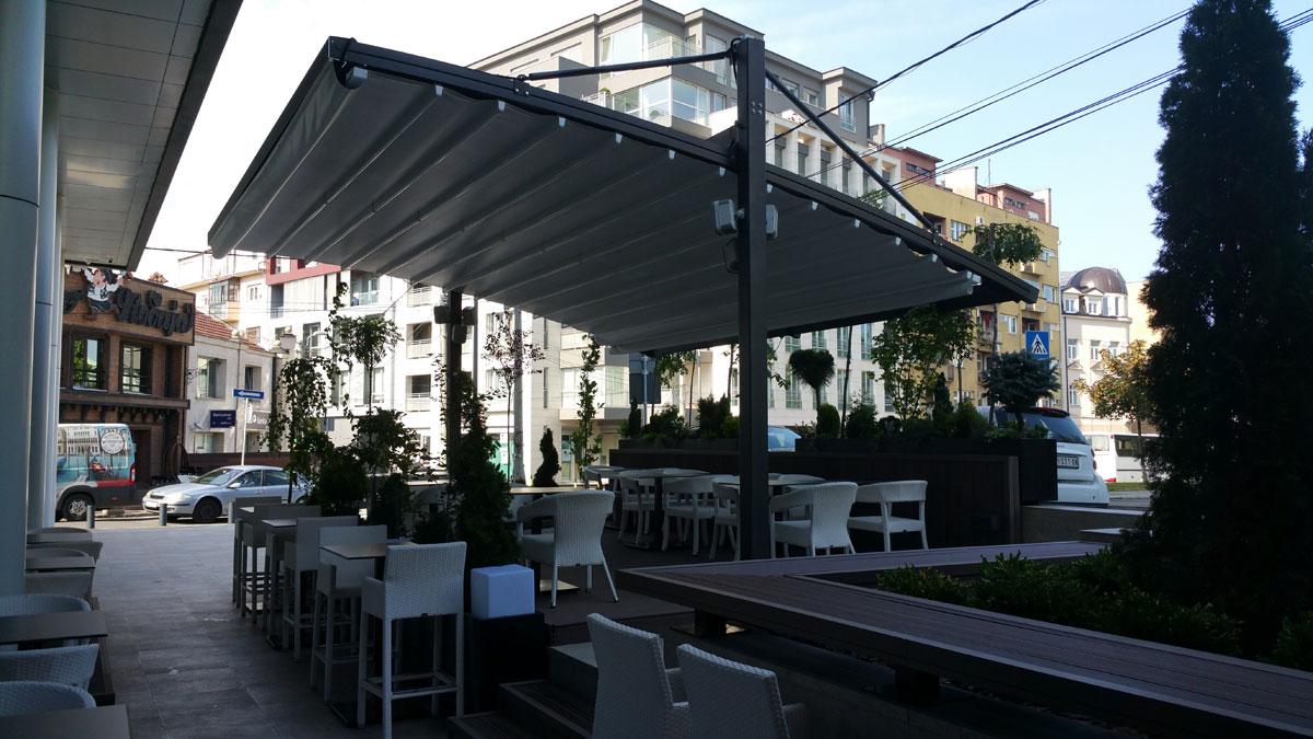 Restoran Terminal, Beograd -Pergole