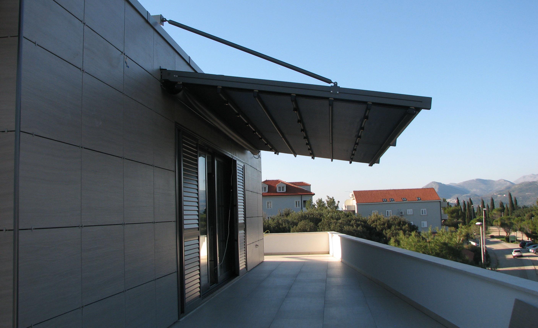 Dubrovnik, pergole Suntech, model MN3